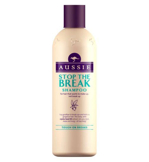 Aussie Stop The Break Shampoo For Heat-Damaged Hair 300ml