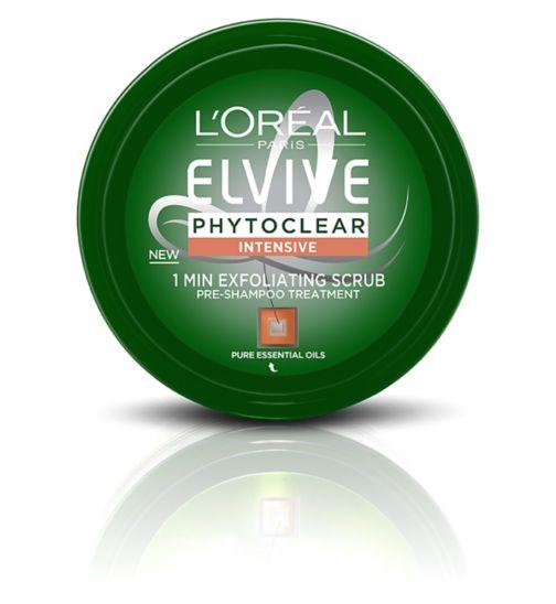 L'Oreal Paris Elvive Phytoclear Anti-Dandruff 1 Minute Exfoliating Scrub 150ml