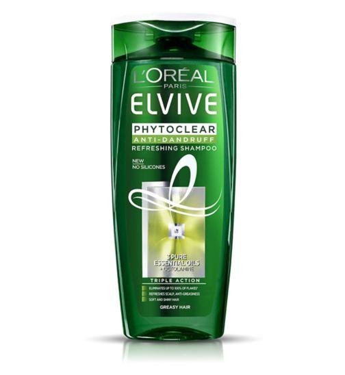 L'Oreal Paris Elvive Phytoclear Anti-Dandruff Refreshing Shampoo 400ml