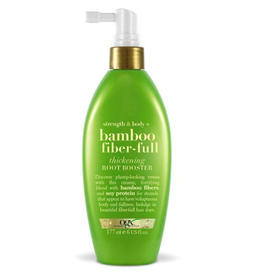 OGX Strength & Body + Bamboo Fiber-Full Root Boost Spray