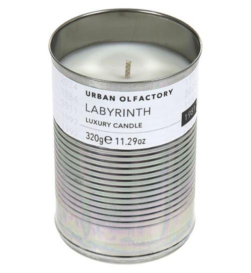 Urban Olfactory Labyrinth Luxury Candle
