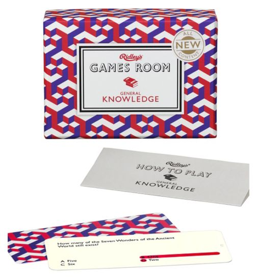 Wild & Wolf Games Room General Knowledge Game