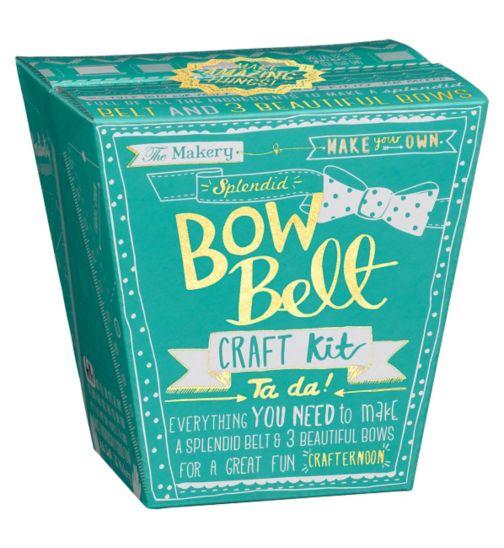 Wild & Wolf The Makery Bow Belt Makeaway Kit