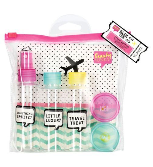 Beauty JunkyTravel Bottle Kit