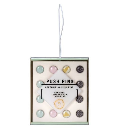 We Live Like This Push Pin Set