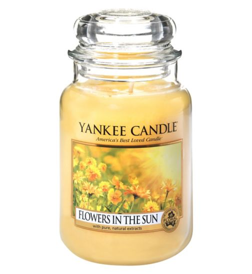 Yankee Candle Large Jar Flowers In The Sun