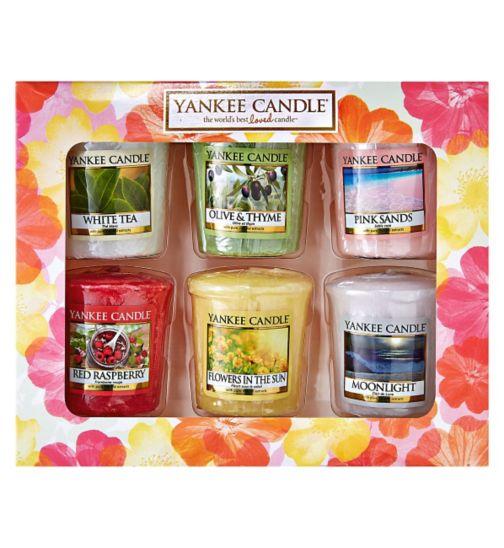 Yankee Candle Six Votive Candle Gift Set