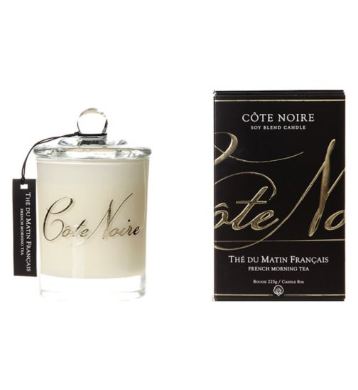 Côte Noire Natural Wax Candle 185g French Morning Tea
