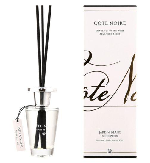 Côte Noire Luxury Diffuser 150ml White Garden