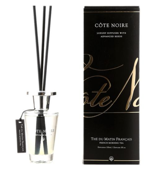 Côte Noire Luxury Diffuser 150ml French Morning Tea