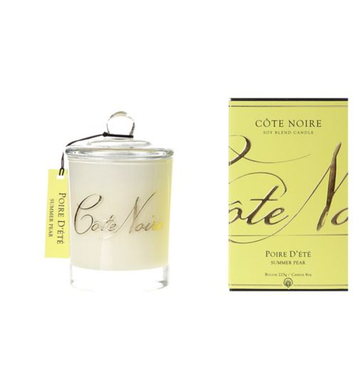 Côte Noire Natural Wax Candle 185g Summer Pear