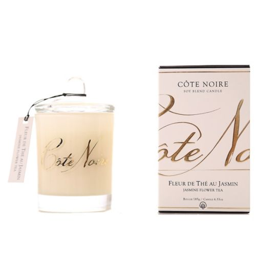 Côte Noire Natural Wax Candle 185g Jasmine Flower Tea