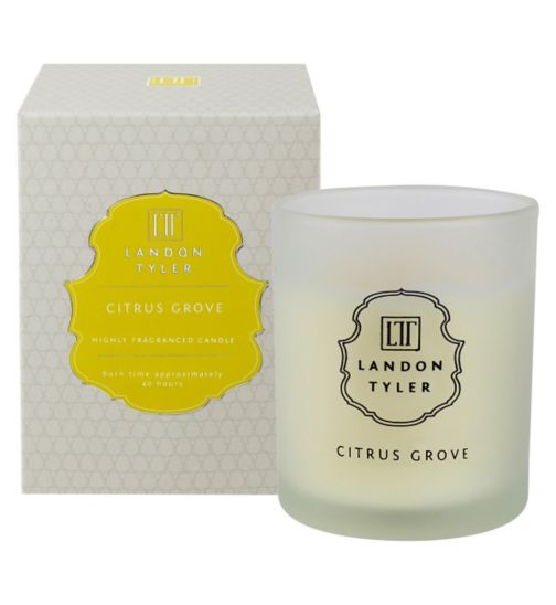 Landon Tyler Candle Glass Citrus Grove