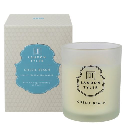 Landon Tyler Candle Glass Chesil Beach