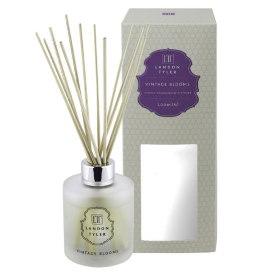 Landon Tyler 100ml Reed Diffuser - Vintage Blooms