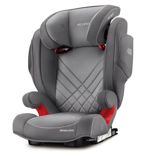Recaro Monza Nova 2 Seatfix Car Seat - Aluminium Grey