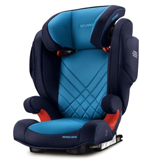 Recaro Monza Nova 2 Seatfix Car Seat - Xenon Blue