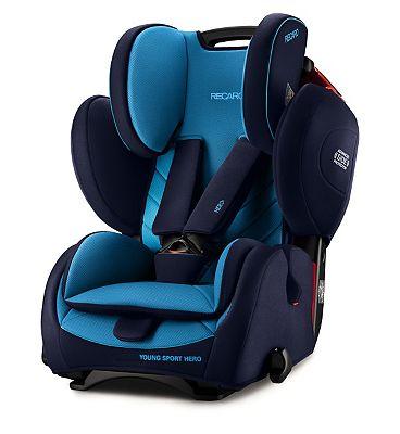 Recaro Young Sport Hero Car Seat  Xenon Blue