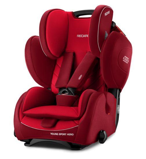 Recaro Young Sport Hero Car Seat - Indy Red