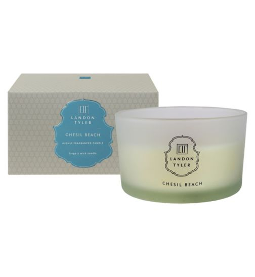 Landon Tyler 3 Wick Candle 460g - Chesil Beach