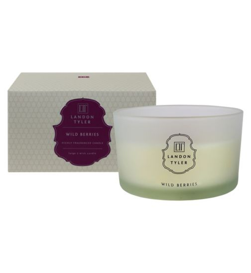 Landon Tyler three wick candle wild berries