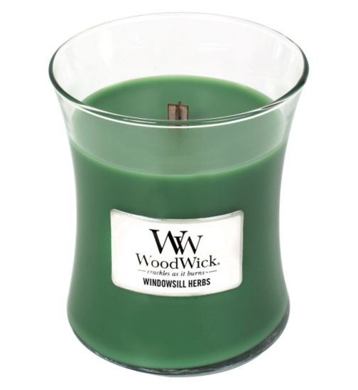 Woodwick Windowsill Herbs Medium Core