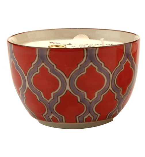 Paddywax Boheme Hand Painted Ceramic Bowl Candle Passionfruit and Guava 355g