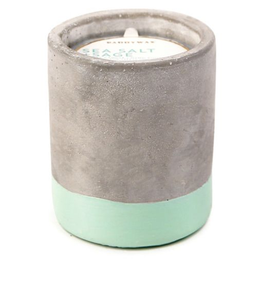 Paddywax Urban Concrete Candle Sea Salt and Sage 100g