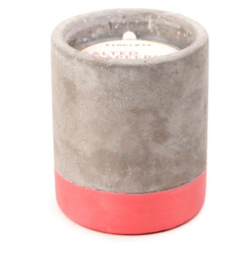 Paddywax Urban Concrete Candle Salted Grapefruit 100g