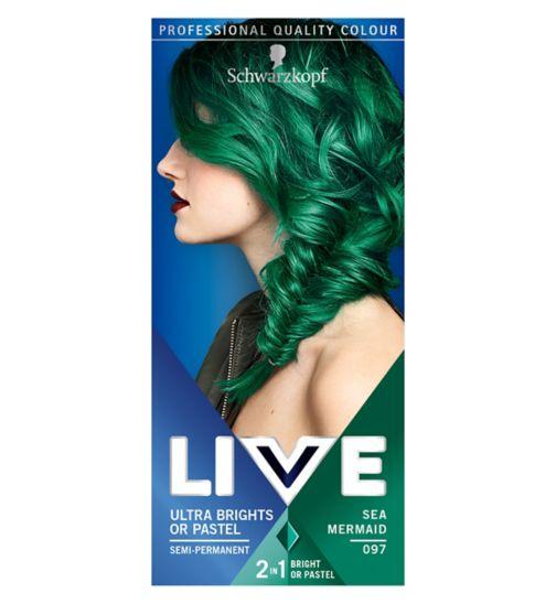 Schwarzkopf LIVE Ulta Brights 097 Sea Mermaid Hair Dye