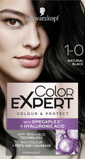 Schwarzkopf Color Expert Natural Black 1.0 Hair Dye