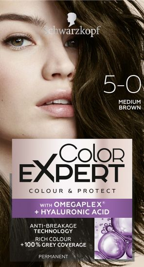Schwarzkopf Color Expert Medium Brown 5.0 Hair dye