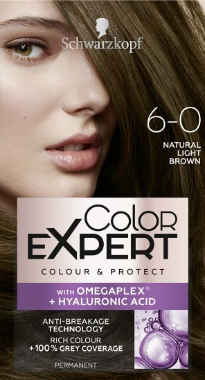 Schwarzkopf Color Expert Natural Light Brown 6.0 Hair Dye