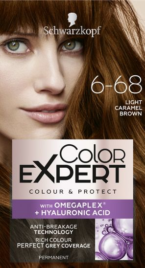 Schwarzkopf Color Expert Light Caramel Brown 6.68 Hair Dye