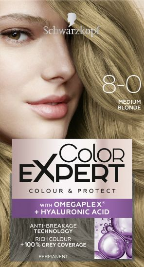 Schwarzkopf Color Expert Medium Blonde 8.0 Hair Dye