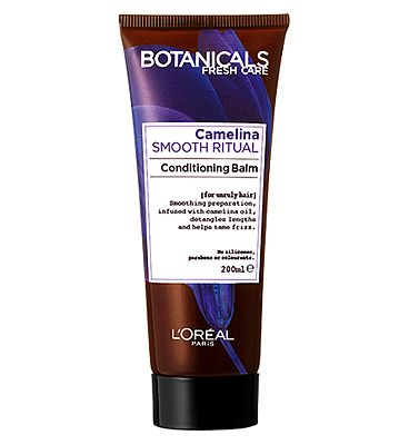 l'oreal botanicals camelina unruly hair smoothing conditioner 200ml