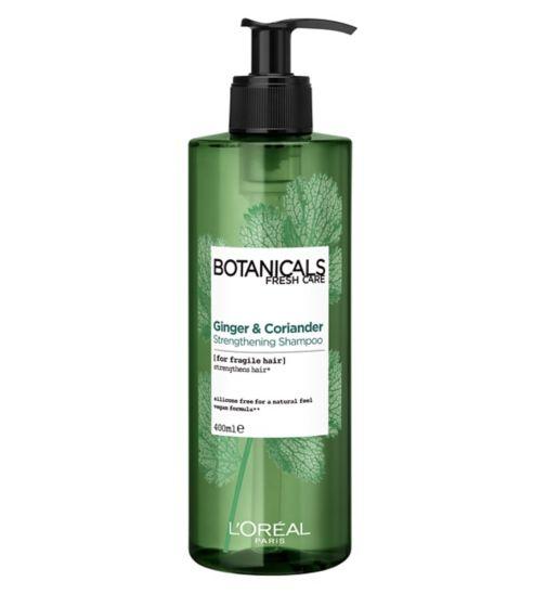 L'Oréal Botanicals Coriander Strength Cure Shampoo 400ml