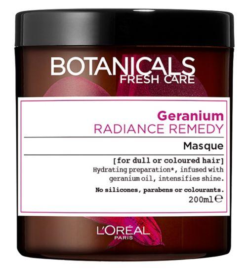 L'Oréal Botanicals Geranium Radiance Remedy Masque 200ml