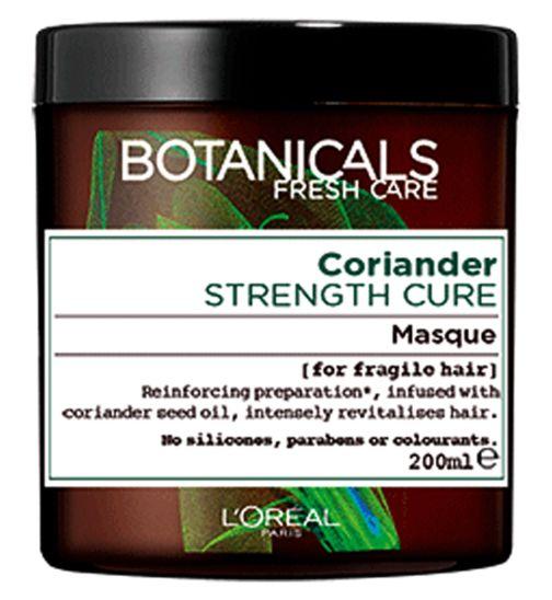 L'Oréal Botanicals Coriander Strength Cure Masque 200ml