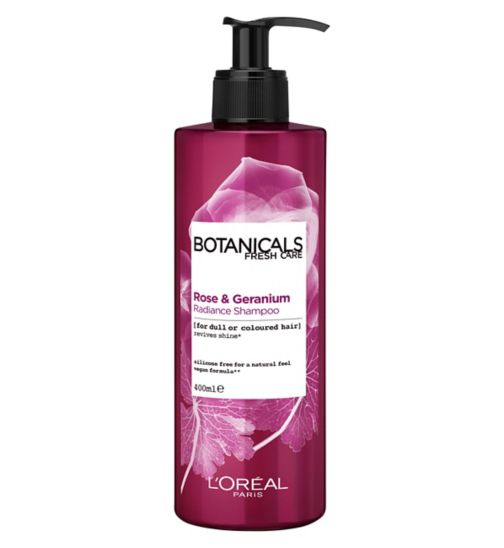 L'Oréal Paris Botanicals Geranium Radiance Remedy Shampoo 400ml
