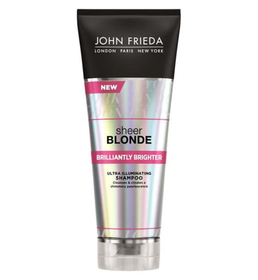 John Frieda Sheer Blonde Brilliantly Brighter Shampoo 250ml