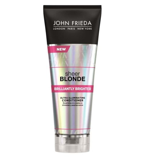 John Frieda Sheer Blonde Brilliantly Brighter Conditioner 250ml