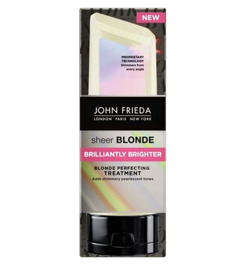 John Frieda Sheer Blonde Brilliantly Brighter Treatment 120ml