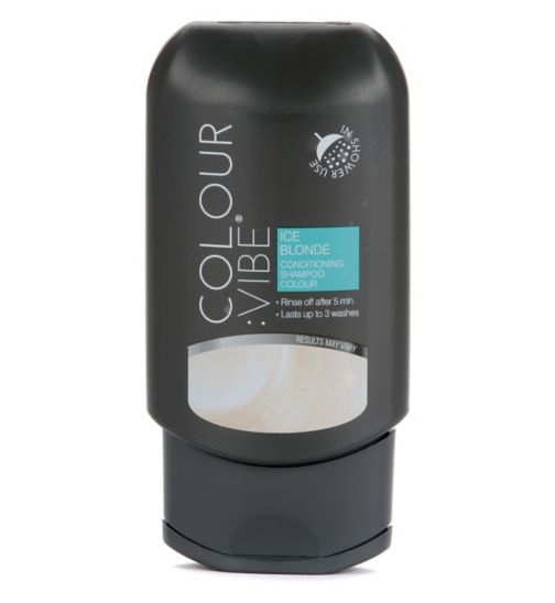 Colour:Vibe Ice Blonde Conditioning Shampoo-in Colour