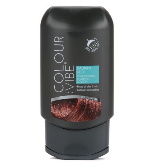 Colour:Vibe Radiant Red Conditioning Shampoo-in Colour