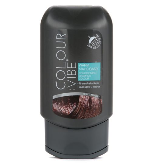 Colour:Vibe Warm Mahogany Conditioning Shampoo-in Colour