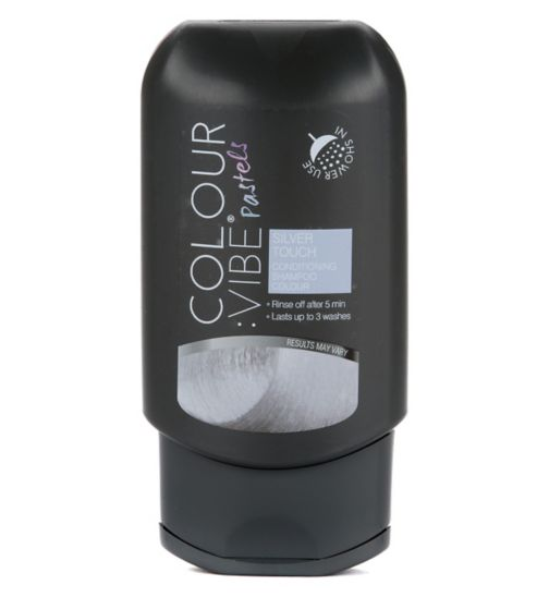 Colour:Vibe Pastels Silver Touch Conditioning Shampoo-in Colour