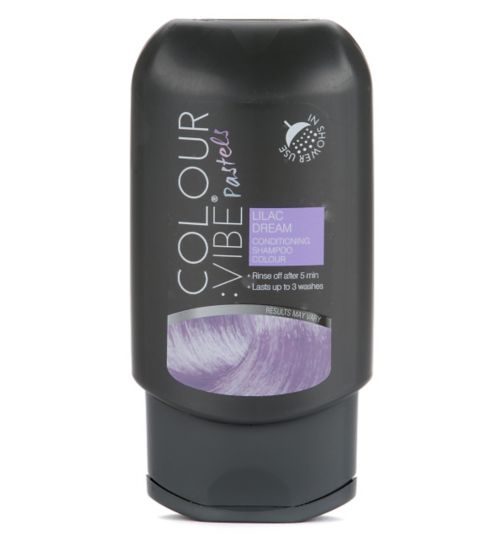 Colour:Vibe Pastels Lilac Dream Conditioning Shampoo-in Colour
