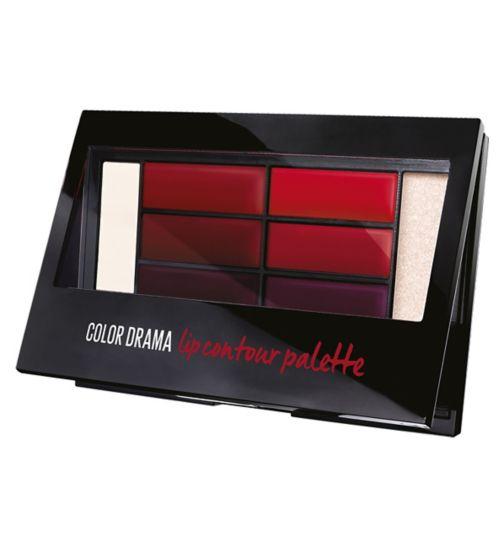 Maybelline Lip Contour Palette Crimson Vixen