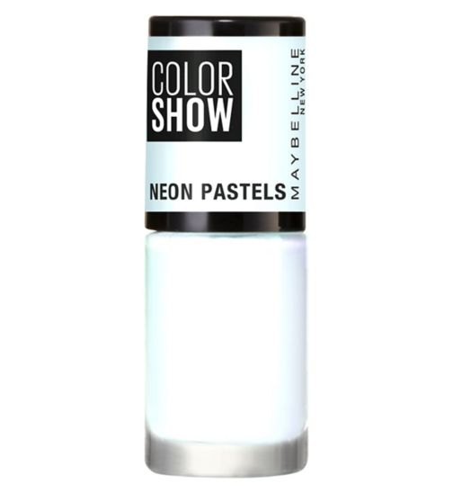 Maybelline Color Show Nail Polish Neon Pastels